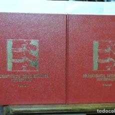 Libros de segunda mano: REUMATISMOS DEGENERATIVOS VERTEBRALES 1 Y 2. BARCELÓ, P. ED. SYNTEX LATINO. BARCELONA 1984. Lote 100895575