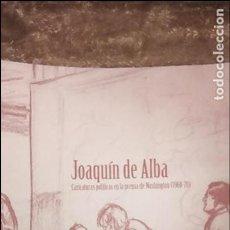 Libros de segunda mano: JOAQUIN DE ALBA, CARICATURAS POLÍTICAS EN LA PRENSA DE WASHINGTON (1960-70). Lote 101032979