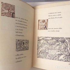 Libros de segunda mano: VALDIVIESO : VILLANCICOS. (ILUSTRACIONES DE PERELLÓN. TIRADA NUMERADA. Lote 101113551