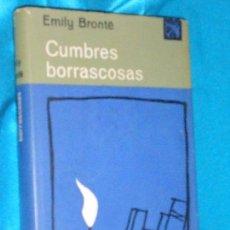 Libros de segunda mano: EMILI BRONTË, CUMBRES BORRASCOSAS · DESTINO, 1963 · 19CM. 316PÁGINAS. Lote 101142919
