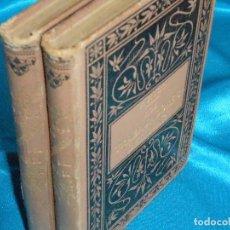 Libros de segunda mano: VICTOR HUGO, LOS TRABAJADORES DEL MAR · MAUCCI, 1895 · 18CM. 418PÁGINAS. Lote 101144763