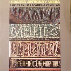 Libros de segunda mano: HISTORIA DE ZARAGOZA - A. BELTRÁN, J.M. LACARRA, A. CANELLAS/F. SOLANO, J.A. ARMILLAS. TOMOS I Y II. Lote 101163211