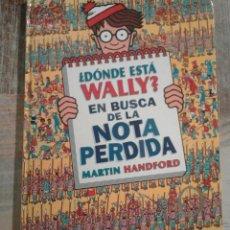 Livros em segunda mão: ¿DÓNDE ESTÁ WALLY? EN BUSCA DE LA NOTA PERDIDA - MARTIN HANDFORD. Lote 175269068