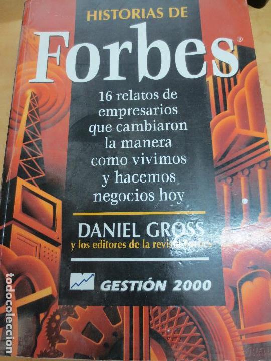 HISTORIAS DE FORBES DANIEL GROSS EDIT GESTIÓN 2000 AÑO 1998 (Libros de Segunda Mano - Historia - Otros)
