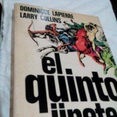 Libros de segunda mano: C3__LIBRO EL QUINTO JINETE__MIDE APROXIM 22X19X3CM__ TIENE 424 PAGINAS. Lote 101418687
