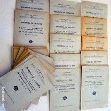 Libros de segunda mano: DIRECCIÓN GENERAL DEL INSTITUTO GEOGRÁFICO Y CATASTRAL. RELACIÓN DE SUPERFICIE DE... Lote 101485755
