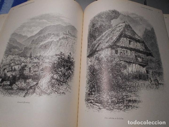 Libros de segunda mano: EUROPA PINTORESCA. DESCRIPCION GENERAL DE VIAJES. ILUSTRADA CON NUMEROSOS Y ARTISTICOS GRABADOS. Y R - Foto 2 - 101493319