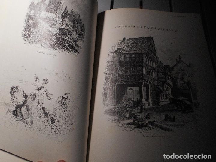 Libros de segunda mano: EUROPA PINTORESCA. DESCRIPCION GENERAL DE VIAJES. ILUSTRADA CON NUMEROSOS Y ARTISTICOS GRABADOS. Y R - Foto 3 - 101493319