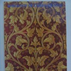 Libros de segunda mano: SEMANA SANTA DE SEVILLA : LIBRO BORDADOS DE CARRASQUILLA - SEVILLA, 1982. Lote 105930203
