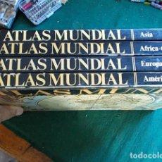 Libros de segunda mano: ATLAS MUNDIAL 4 TOMOS. Lote 101505171