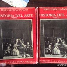 Libros de segunda mano: HISTORIA DEL ARTE I Y II. DIEGO ANGULO. Lote 101534600