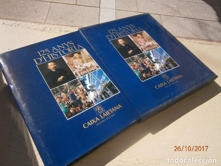 Libros de segunda mano: Libro 125 anys d'història Caixa Laietana escrito en catalan ART-607 - Foto 2 - 101547411