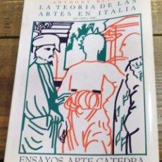Libros de segunda mano: LA TEORIA DE LAS ARTES EN ITALIA ( DE 1450 A 1600), ANTHONY BLUNT. Lote 101559919