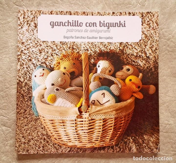 libro manualidades, Ganchillo con bigunki, patrones, amirigumi, crochet, muñecos lana