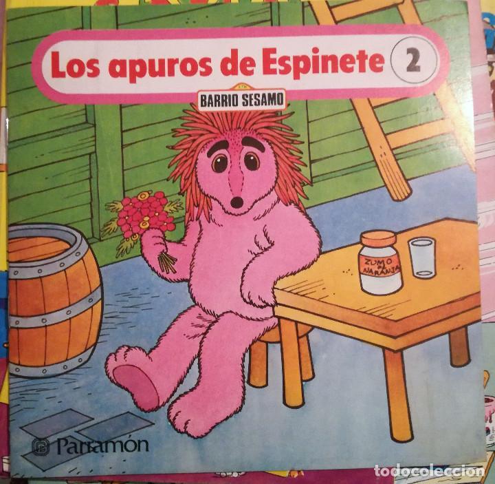 ESPINETE 5 CUENTOS BARRIO SESAMO PARRAMÓN Nº 1-2-3-5-6 NUEVO (Libros de Segunda Mano - Literatura Infantil y Juvenil - Otros)