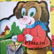Libros de segunda mano: LA PASTORCILLA-CENICIENTA-EL REY GASPAR-EL PERRITO CURIOSO ANTALBE 1980 PINTA TU CUENTO 6 CUENTOS. Lote 101612347