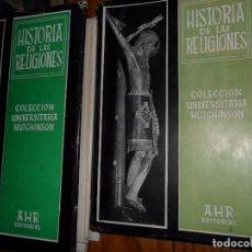 Libros de segunda mano: HISTORIA DE LAS RELIGIONES, E. O. JAMES, ED. AHR, COLECCIÓN HUTCHINSON, 3 TOMOS. Lote 101696039