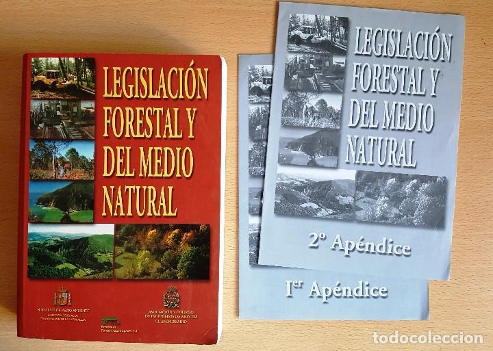 LEGISLACIÓN FORESTAL Y DEL MEDIO NATURAL. EDITA ASOCIACIÓN Y COLEGIO DE INGENIEROS DE MONTES (Libros de Segunda Mano - Bellas artes, ocio y coleccionismo - Otros)