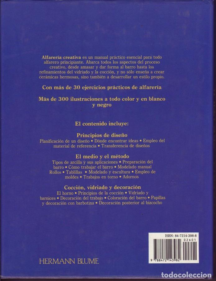 Libros de segunda mano: ALFARERÍA CREATIVA Peter Consentido. - Foto 3 - 24001257