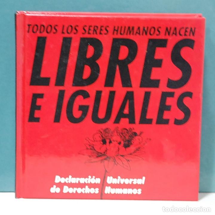 DECLARACIÓN UNIVERSAL DE DERECHOS HUMANOS. EDICIÓN DE VICENTE FERRER AZCOITI (Libros de Segunda Mano - Pensamiento - Otros)