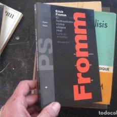Livros em segunda mão: EL HUMANISMO COMO UTOPÍA REAL - ERICH FROMM. Lote 101977555