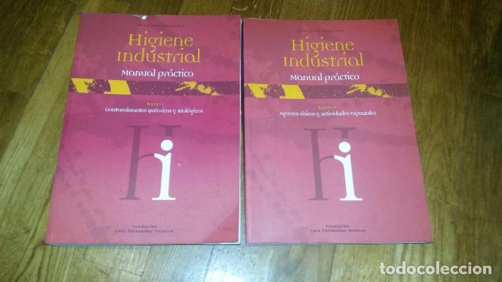 Libros de segunda mano: higiene industrial manuel / tomos I y II / manual practico / jesus falagan rojo - Foto 2 - 102011343
