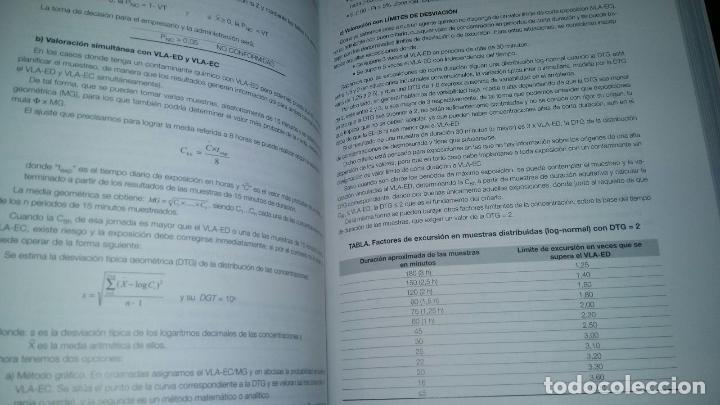 Libros de segunda mano: higiene industrial manuel / tomos I y II / manual practico / jesus falagan rojo - Foto 6 - 102011343
