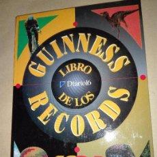 Libros de segunda mano: LIBRO GUINNESS DE LOS RECORDS 1994 - COLECCIONABLE COMPLETO Y ENCUADERNADO EDITADO POR DIARIO 16. Lote 102042383