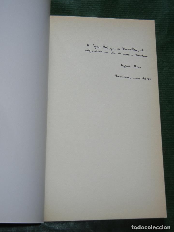 Libros de segunda mano: FINALE de Ignasi Mora - 1a Edición 1991 Dedicatoria autógrafa del autor - Foto 2 - 3045119