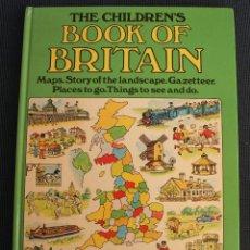 Libros de segunda mano: THE CHILDREN´S BOOK OF BRITAIN – LIBRO ILUSTRADO PARA NIÑOS PARA CONOCER GRAN BRETAÑA - MAPAS.... Lote 102090571