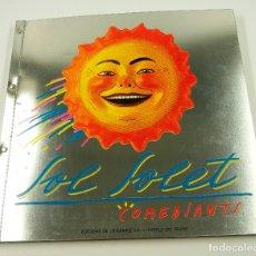 Libros de segunda mano: SOL SOLET COMEDIANTS, 1983, INSTITUT DEL TEATRE. 32X31CM. Lote 102151459
