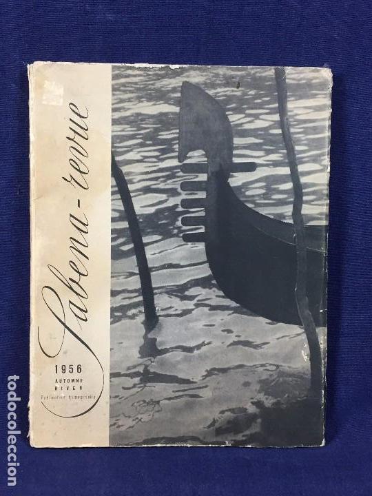 SABENA REVUE REVISTA TRIMESTRAL 1956 AUTOMNE HIVER BRUSELAS ILUSTRACIONES BLANCO NEGRO COLOR (Libros de Segunda Mano - Historia - Otros)