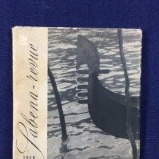 Libros de segunda mano: SABENA REVUE REVISTA TRIMESTRAL 1956 AUTOMNE HIVER BRUSELAS ILUSTRACIONES BLANCO NEGRO COLOR. Lote 102166415