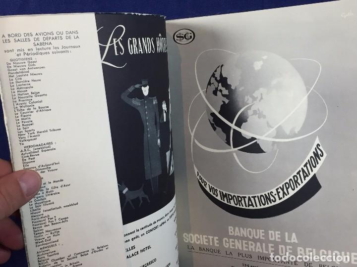 Libros de segunda mano: sabena revue revista trimestral 1956 automne hiver bruselas ilustraciones blanco negro color - Foto 4 - 102166415