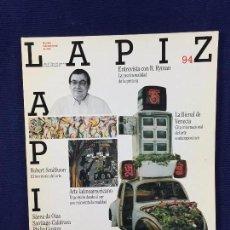 Libros de segunda mano: REVISTA INTERNACIONAL ARTE LAPIZ PINTURA CINE LATINOAMERICA AÑO XI NUMERO 94 ESPAÑA 1993. Lote 102173351