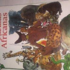Libros de segunda mano: FABULAS AFRICANAS. Lote 102220372