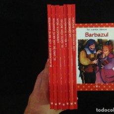 Libros de segunda mano: COLECCION COMPLETA TUS CUENTOS CLASICOS - 8 TOMOS - RBA. Lote 103656959