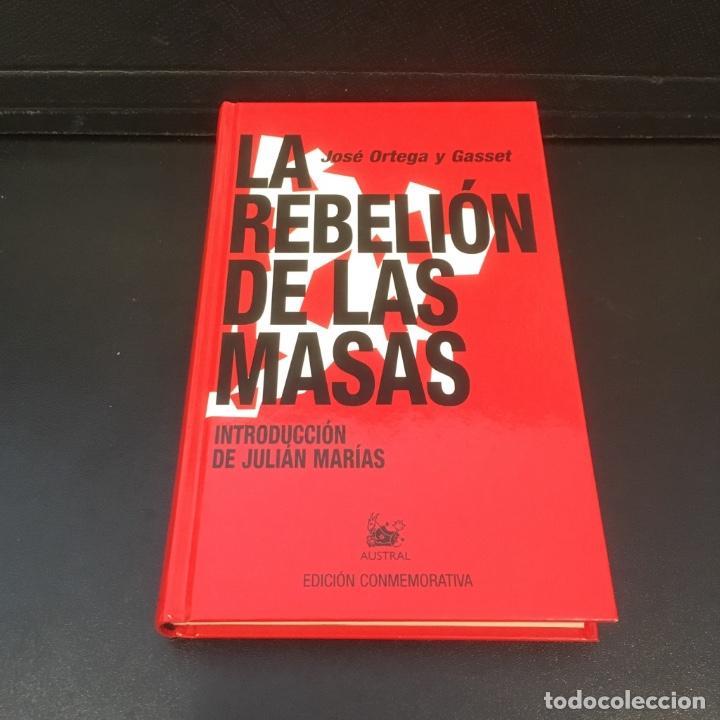 Libros de segunda mano: La rebelión de las masas. José Ortega y Gasset. - Foto 3 - 102418691