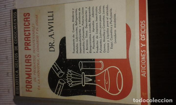 Libros de segunda mano: RECETARIO PRÁCTICO - Foto 2 - 102444591