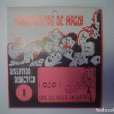Libros de segunda mano: LIBRERIA GHOTICA. PASATIEMPOS DE MAGIA. NUMERO 1. !OJO! QUE LA VISTA ENGAÑA. 1980. JUEGO.. Lote 102449655