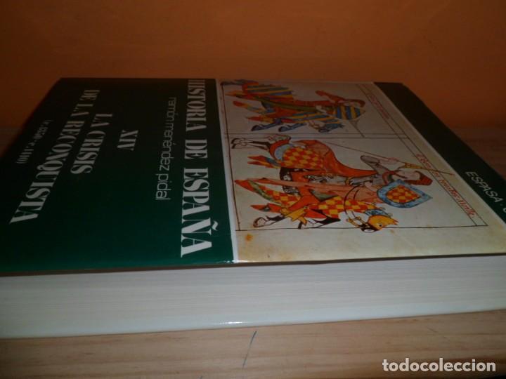 Libros de segunda mano: HISTORIA DE ESPAÑA / TOMO XIV LA CRISIS DE LA RECONQUISTA / RAMON MENENDEZ PIDAL - Foto 2 - 102602491