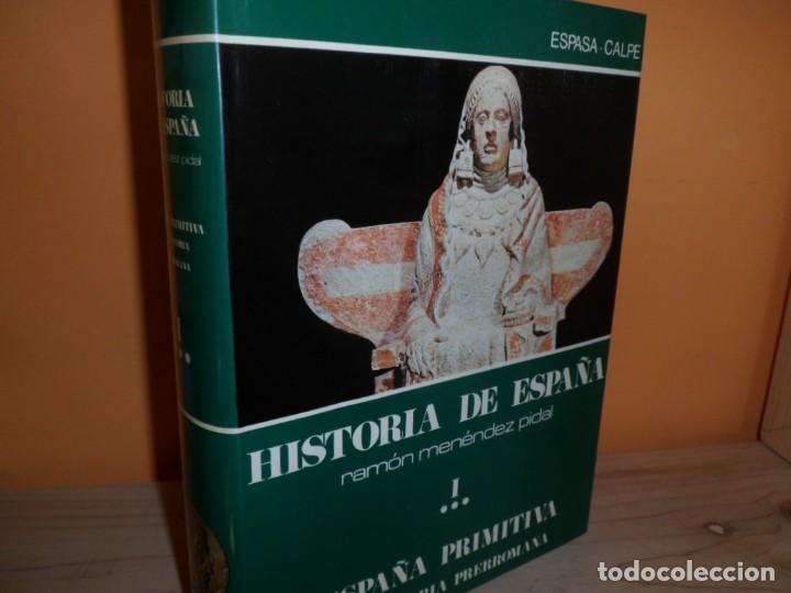 HISTORIA DE ESPAÑA / TOMO I ESPAÑA PRIMITIVA VOL.3 / RAMON MENENDEZ PIDAL (Libros de Segunda Mano - Historia - Otros)