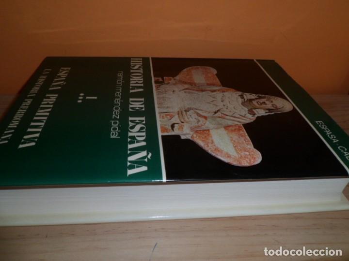 Libros de segunda mano: HISTORIA DE ESPAÑA / TOMO I ESPAÑA PRIMITIVA VOL.3 / RAMON MENENDEZ PIDAL - Foto 2 - 102604103