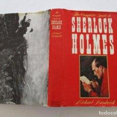 Libros de segunda mano: MICHAEL HARDWICK. THE COMPLETE GUIDE TO SHERLOCK HOLMES. RMT84296. . Lote 102622263
