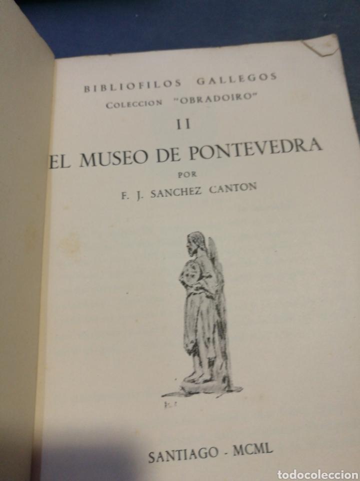 Libros de segunda mano: Bibliófilos gallegos. Colección Obradoiro. El Museo de Pontevedra, II - Foto 2 - 102631191