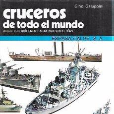 Libros de segunda mano: CRUCEROS DE TODO ELMUNDO. GINO GALUPPINI.ESPASA-CALPE, S.A.1984.. Lote 102661195
