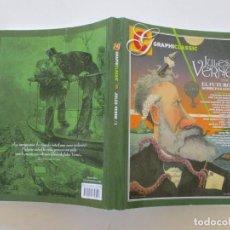 Libros de segunda mano: VV. AA. GRAPHICLASSIC Nº 3. JULES VERNE. TOMO I: EL FUTURO SOBREPASADO. RMT84307. . Lote 102665019