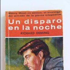 Libros de segunda mano: COLECCION EL BUHO. UN DISPARO EN LA NOCHE. RICHARD DEMING. 1958. Lote 102671439