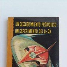 Libros de segunda mano: UN DESCUBRIMIENTO PRODIGIOSO UN EXPERIMENTO DEL DR OX. UN DRAMA EN LOS AIRES. JULIO VERNE, 1965. Lote 102672095