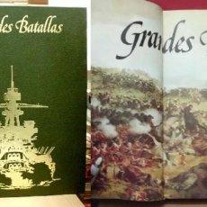 Libros de segunda mano: GRANDES BATALLAS - GRANDES BATALLAS NAVALES. 2 TOMOS.- KOENIG, W. / HOLMES, R. - A-GUE-2119.. Lote 102730555